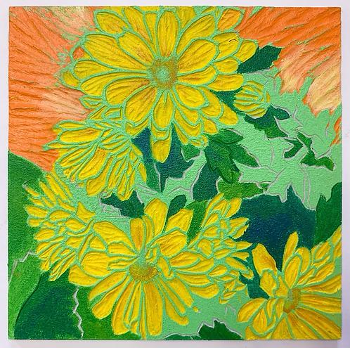 "6""x6"" Happy Little Painting"