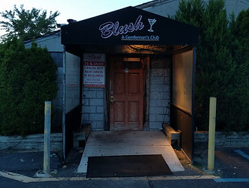 Front of the Blush Night Club