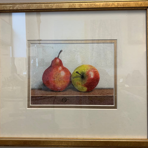 Pear and Apple by Sue Weniger