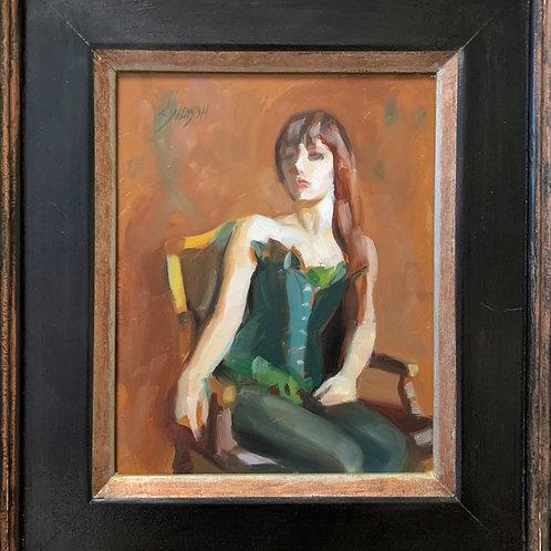 Woman Seated by MacKenzie