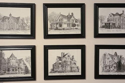 Landmark Series Prints by Jo Burke