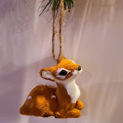 Woodland creatures ornaments