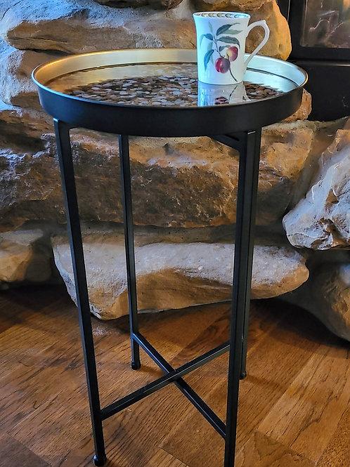 Stone tray table