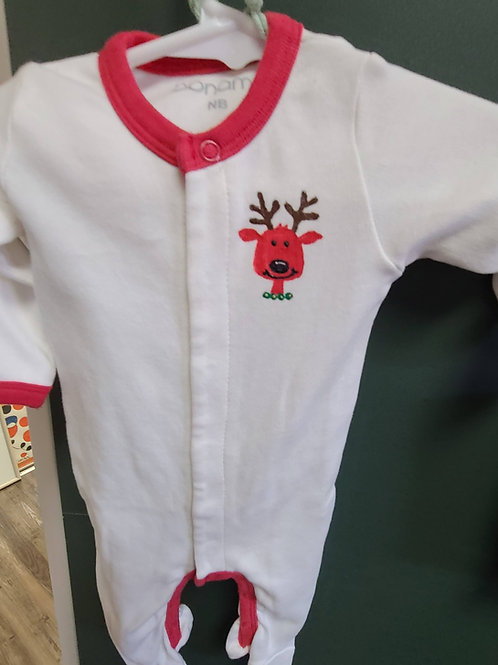 Reindeer Onesie in size newborn