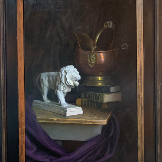 Still Life with Lion