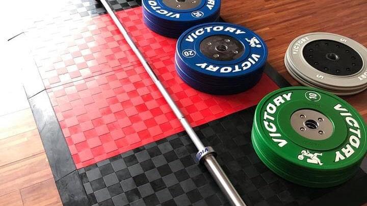 Victory Elite Weightlifting Training Barbell (Men's 20kg / Women's 15kg)