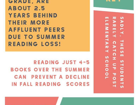 Importance of summer reading