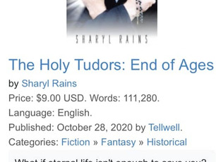 """The Holy Tudors: End of Ages"" Release!"