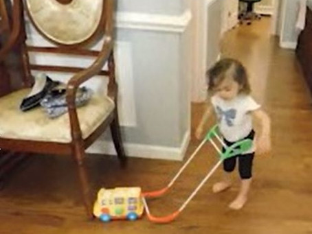 Blind toddlers taught us about their gross motor delays