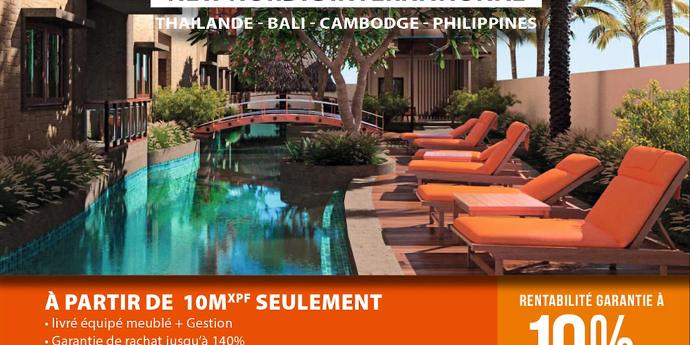 Conférences Investir en Thaïlande - 6 Février 2020 à 18h30 - Hôtel Intercontinental Beachcomber - Tahiti Faa'a (2)