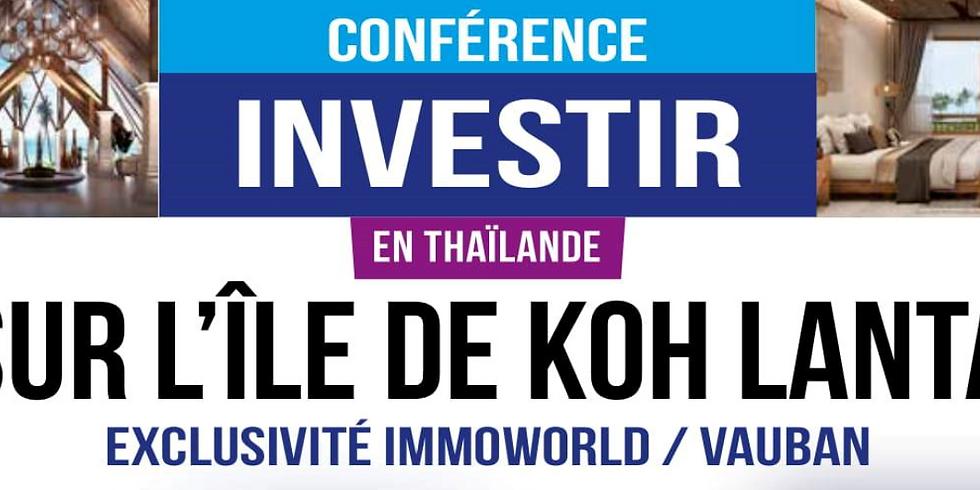 Conférences Investir à l'étranger - 12 Mars 2019