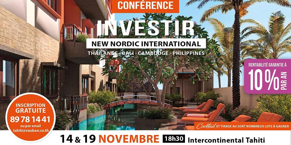 Conférence Investir à l'étranger