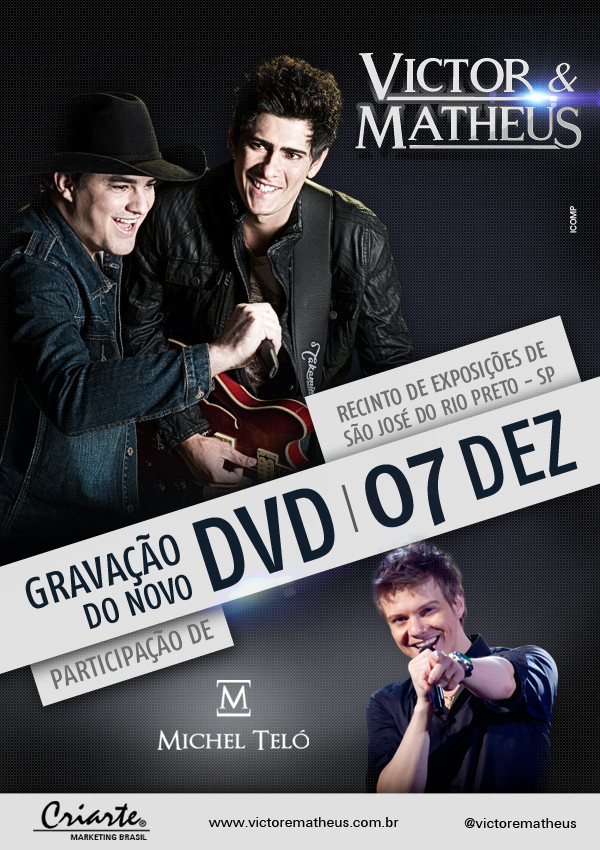 Victor e Matheus, Michel Teló | Ag. Icomp