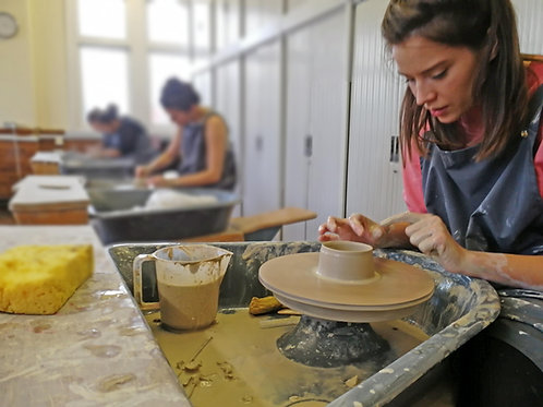 Introduction to Pottery - 9-11.30am Saturday 5th of December