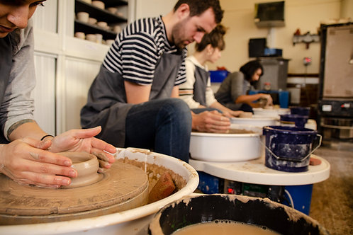 Introduction to Pottery - 9-11.30am  SUNDAY 10th of January