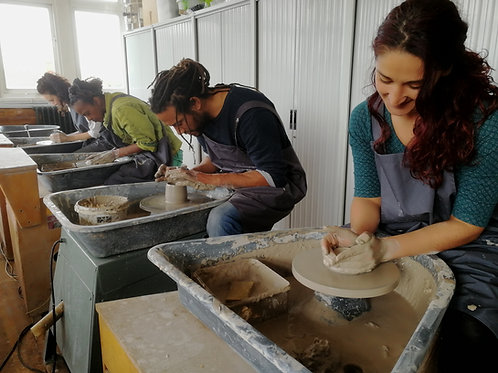 Introduction to Pottery - 9-11.30am SATURDAY 16th of January