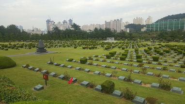 UN Memorial Cemetery in Korea