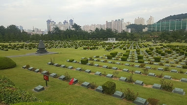UN Memorial Cemetery in Korea