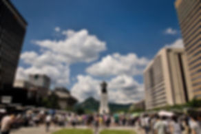Korea private tour-Tagytravelkorea, Gwanghwamun square