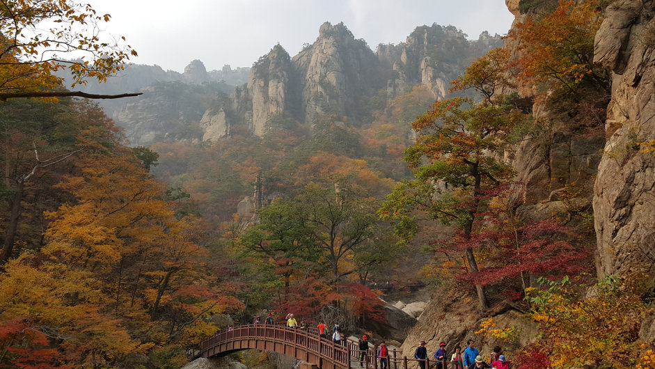 Korea private tour-Tagytravelkorea, Fall Foliage Sightseeing Tour from Mt.Seorak National Park