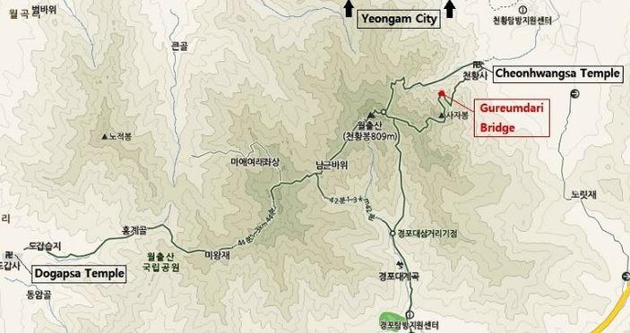 tagytravelkorea-Korea National Park Trekking tour