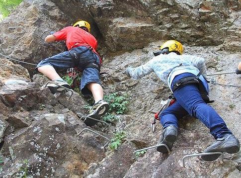 Iron Way 'Via Ferrata' & Valley Trekking in Seorak