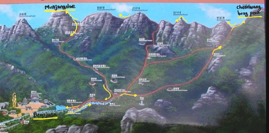 Korea hiking tour & daily seoul city tours