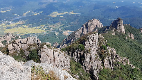 Mt. Wolchulsan National Park Hiking, Cheonhwangbong peak