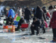 Ice Fishing / South Korea winter fastival