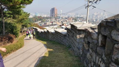 Korea private tour-Tagytravelkorea, The Seoul city wall (HANYANGDOSEONG)
