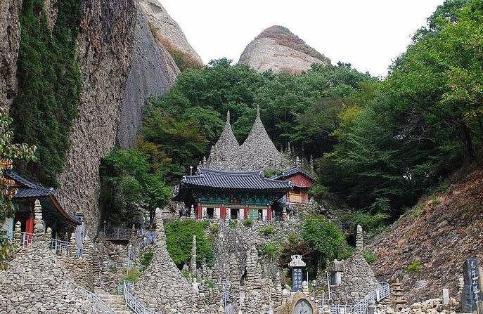 Korea private tour-Tagytravelkorea, Tapsa Temple in Mt. Mai