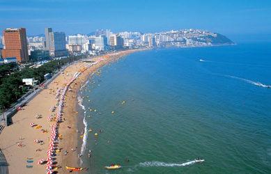 Haeundae Beach-Busan city tour