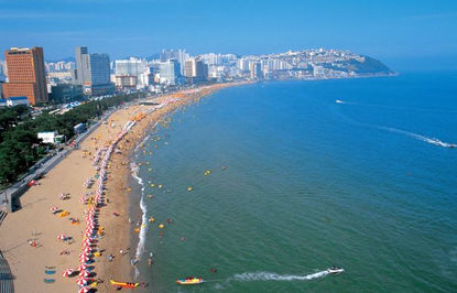 Korea private tour-Tagytravelkorea, Haeundae Beach