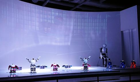 Kids Friendly Tours-Robot Studio Tour