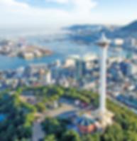 Busan Tour from Seoul via KTX-Busan tower