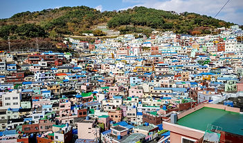 Korea Busan private tour - Gamcheon Mural village