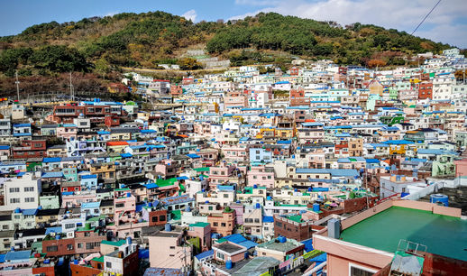 Korea private tour-Tagytravelkorea, Gamcheon Mural village