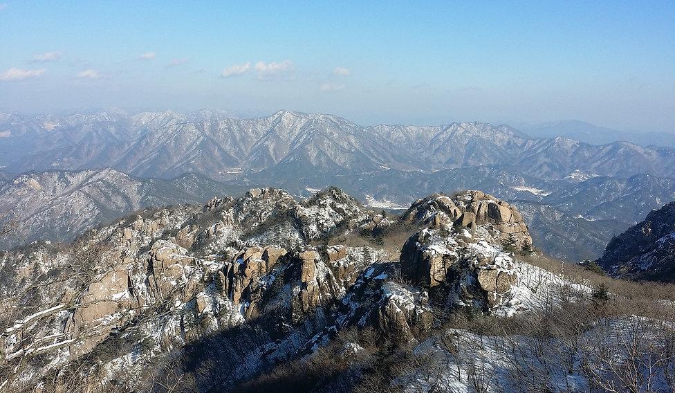 Munjangdae peak-South Korea Hiking tour