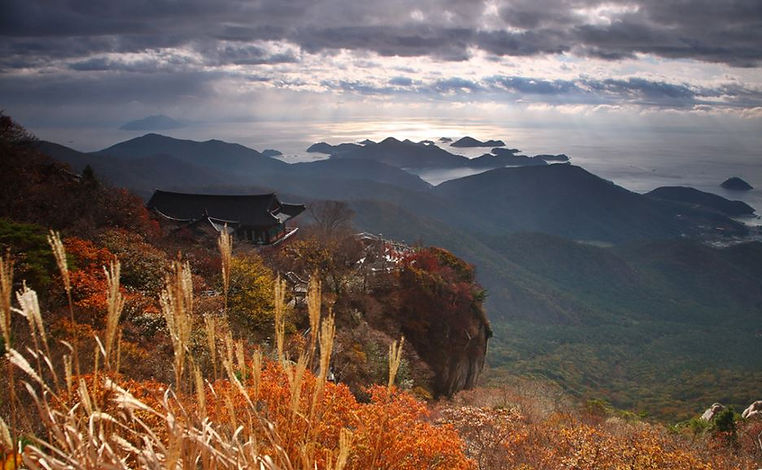 Korea private tour-Tagytravelkorea, Boriam, Hermitage of Compassion Overlooking the South Sea