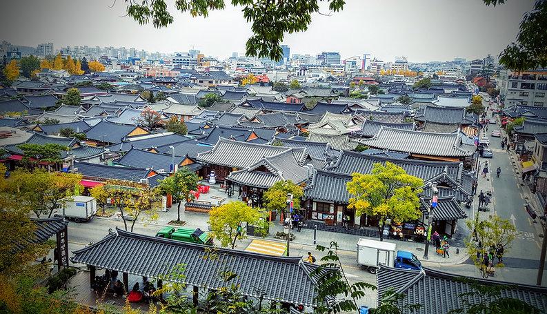 Jeonju hanok village-Fall Foliage tour-from Seoul