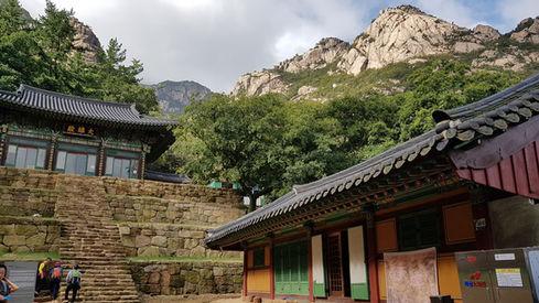 Mt. Wolchulsan National Park Hiking-Cheonhwang Temple