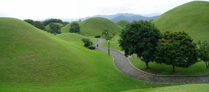 Korea private tour-Tagytravelkorea, Tumuli park