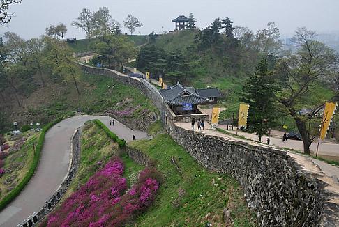 Korea private tour-Tagytravelkorea, Gongsansung Fortress