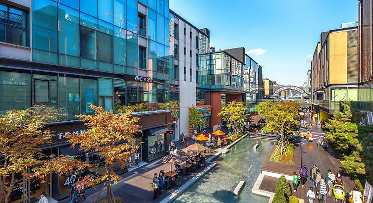 Korea private tour-Tagytravelkorea, Canal walk and NC CUBE shopping center