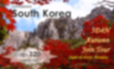 South Kore 5D4N Autumn Join tour -Tagy Travel Korea