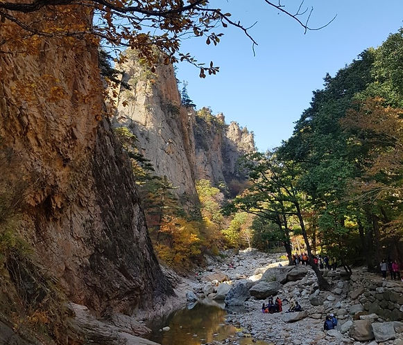 Mt. Seorak. Water fall