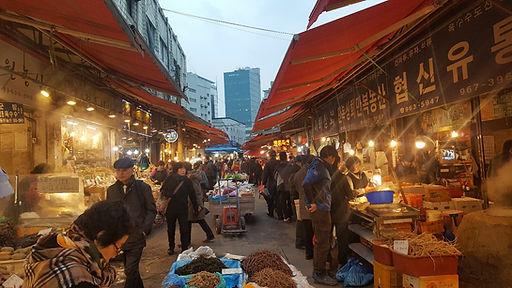 Korea private tour-Tagytravelkorea, Cheongrangri Market