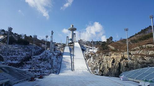 Korea private tour-Tagytravelkorea, Ski Jump lounge in Alpensia resort