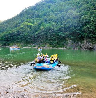 Donggang River Adventure- South Korea Outdoor Tour