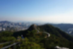 Korea private tour-Tagytravelkorea, Excursions along the Seoul city wall tour, The imposing Seoul city wall